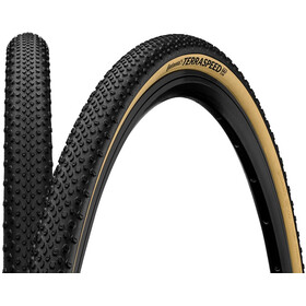 """Continental Terra Speed ProTection Folding Tyre TLR 27.5x1.35"""", negro/beige"""